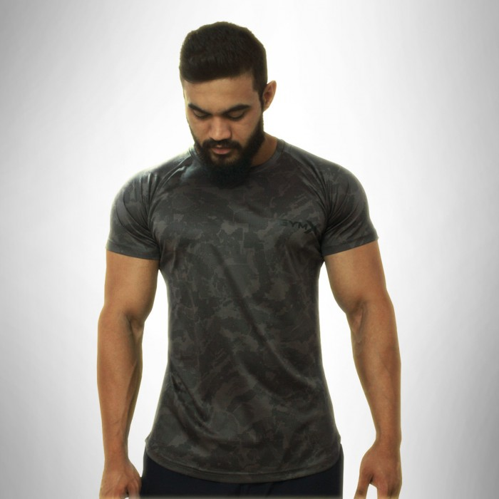 Gymx Dark Grey Atlas Tee - Phoenix Series