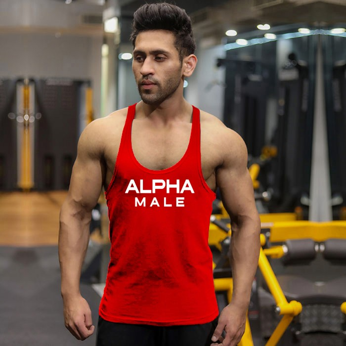 Alpha Male Stringer- Ferrari Red