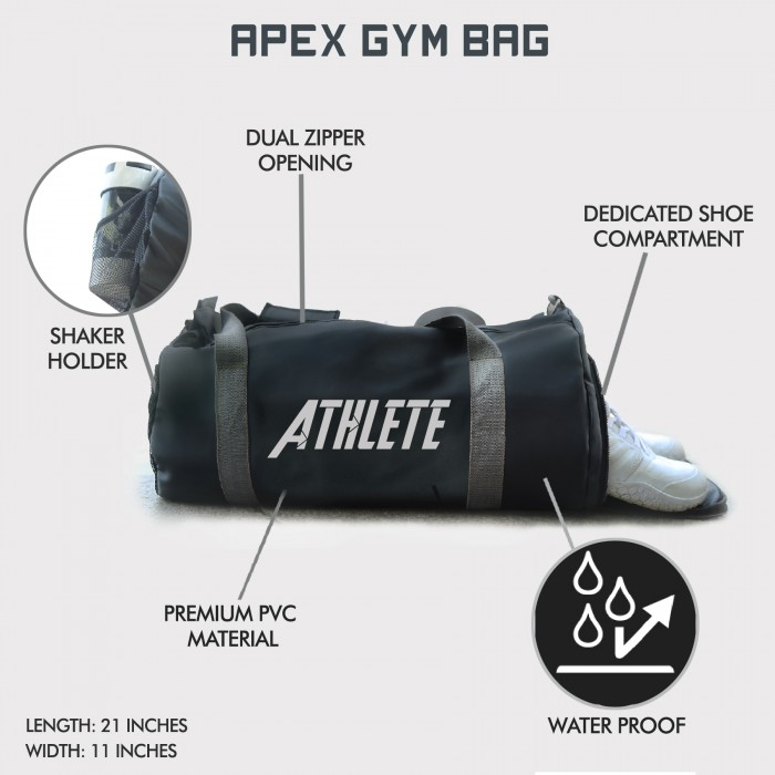 Apex Athlete Gym Bag (XL size)
