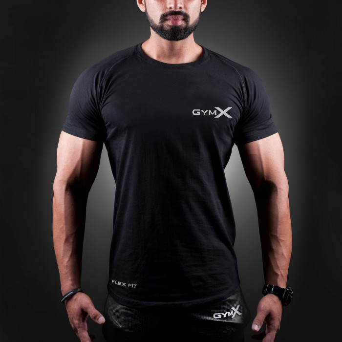 Iconic Black  Ignite T-Shirt (Flex Fit)- Sale