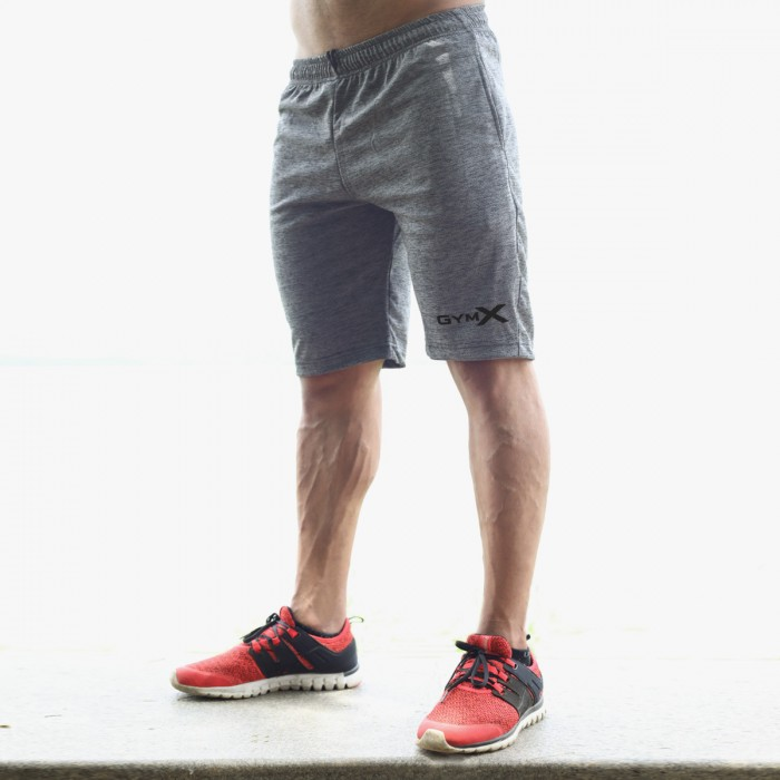 Chromium Grey Training Shorts