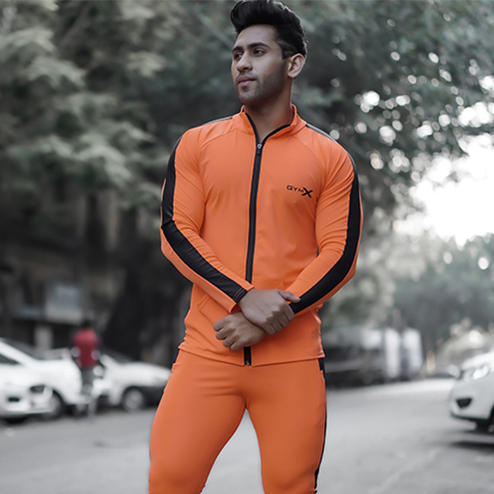 Neon Orange UFO Summer Jacket
