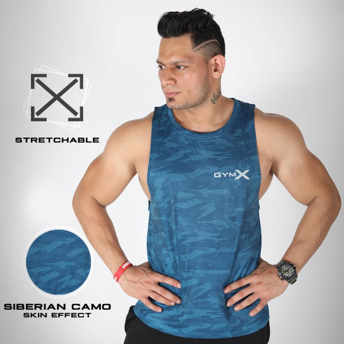 Siberian Blue Tank- Animal Instinct-SALE